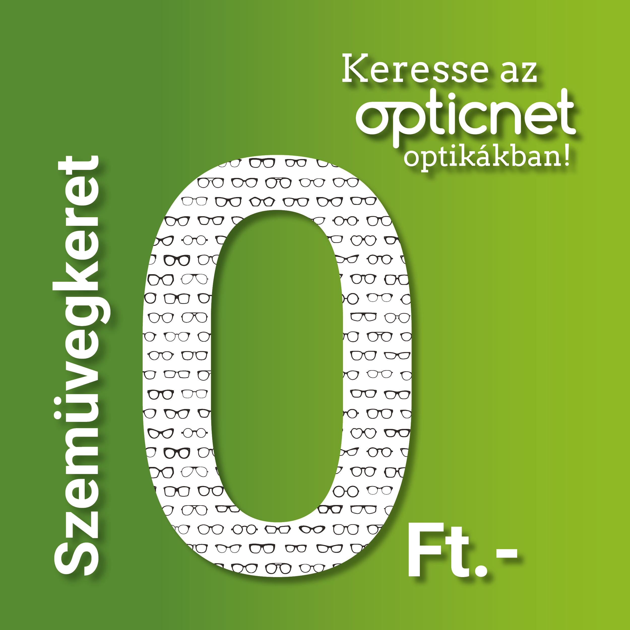 Szemüvegkeret 0.- forintért!
