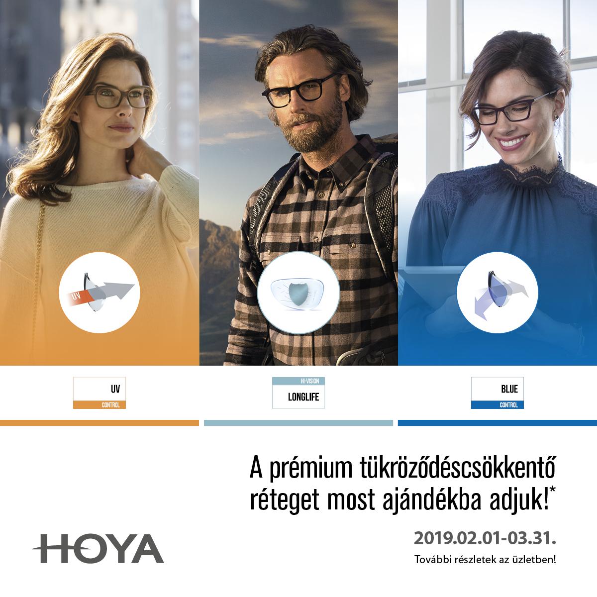 Prémium minőségű Hoya felületkezelések ajándékba!