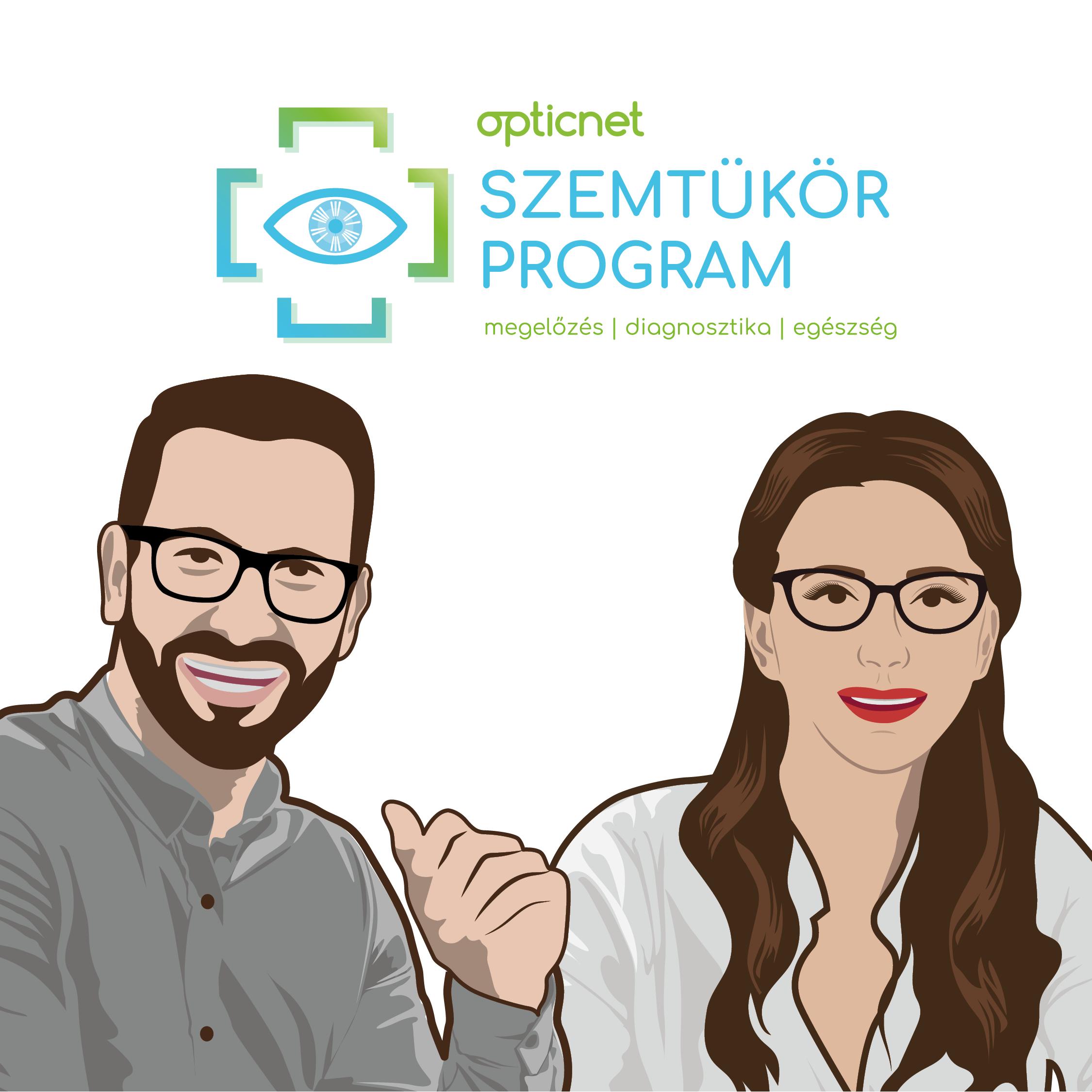 Opticnet Szemtükör-program .  Új szűrővizsgálat a nyak-és fejfájás okainak kiderítésére !