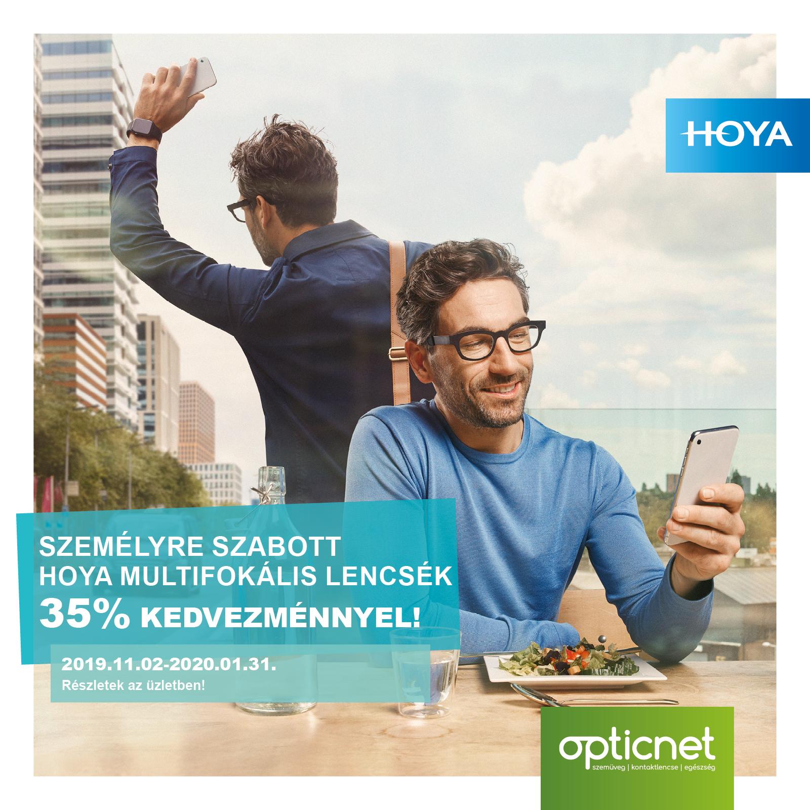 Hoya iD progresszív akció 35 % kedvezménnyel!
