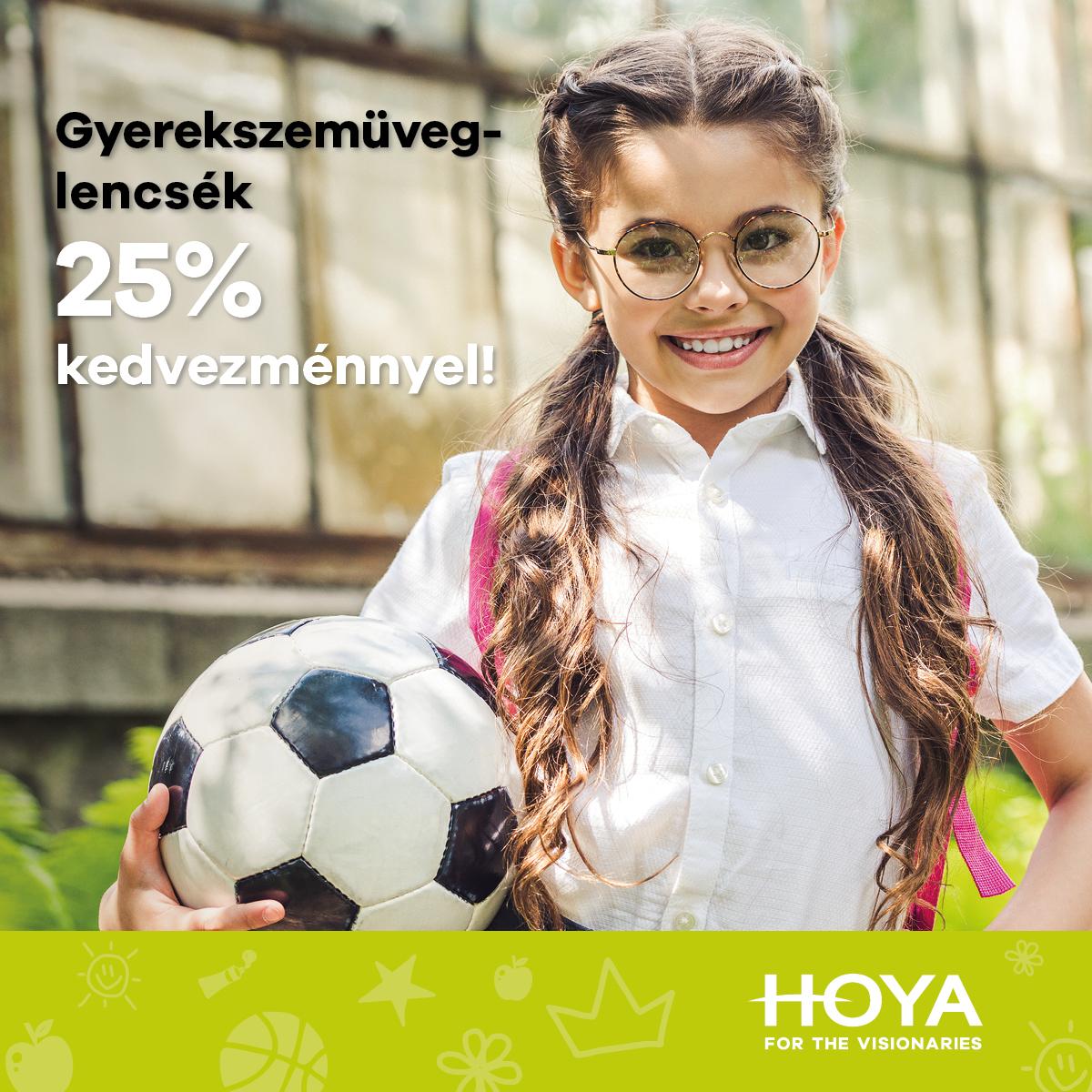 Hoya Kids lencsék
